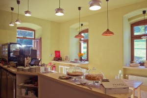Leto v kavárni