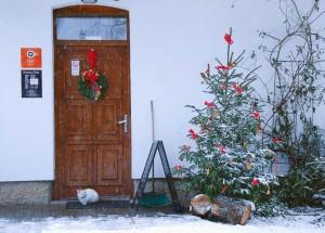 Zimní idylka Café Neratov