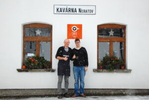 Zima v Café Neratov